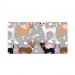 Chihuahua Dogs Unicorn Mouse Pad 15.8x29.5 in Pad Mat Laptop Gaming Home Office Computer Accessories Rectangle Non-Slip Rubber Mousepad,Suitable for personal computer 03.cm x 40cm x 75cm