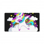 Kawaii Rainbow Unicorn Mouse Pad 15.8x29.5 in Pad Mat Laptop Gaming Home Office Computer Accessories Rectangle Non-Slip Rubber Mousepad,Suitable for laptop 03.cm x 40cm x 75cm
