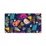Nautical Ocean Mouse Pad 15.8x29.5 in Pad Mat Laptop Gaming Home Office Computer Accessories Rectangle Non-Slip Rubber Mousepad,Suitable for etc. 03.cm x 40cm x 75cm