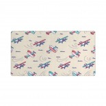 PATTERN AIRPLANES Mouse Pad 15.8x29.5 in Pad Mat Laptop Gaming Home Office Computer Accessories Rectangle Non-Slip Rubber Mousepad,Suitable for office 03.cm x 40cm x 75cm