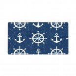 Retro Ship's Wheel Anchor Mouse Pad 15.8x29.5 in Pad Mat Laptop Gaming Home Office Computer Accessories Rectangle Non-Slip Rubber Mousepad,Suitable for etc. 03.cm x 40cm x 75cm