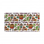 Viva Mexico Mouse Pad 15.8x29.5 in Pad Mat Laptop Gaming Home Office Computer Accessories Rectangle Non-Slip Rubber Mousepad,Suitable for game 03.cm x 40cm x 75cm